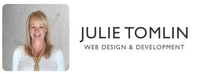 Julie Tomlin Web Design & Development